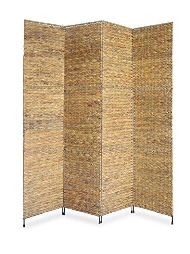 Proman Products FS16668 Jakarta Folding Screen, 60 x 67 x 1, Natural