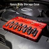 3649 SAE & Metric Impact Hex Driver Set