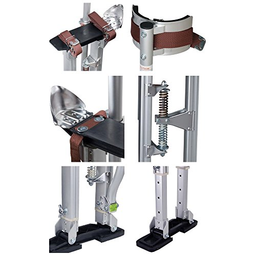 24 40 aluminum drywall stilts tool stilt for painting for Drywall delivery cost