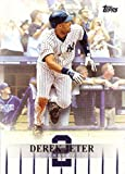 #2: 2018 Topps Target Derek Jeter Highlights #DJH-9 Baseball Card - 3,000 Career Hit