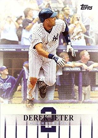 Amazoncom 2018 Topps Target Derek Jeter Highlights Djh 9 Baseball
