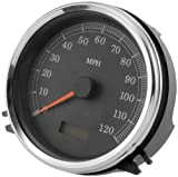 Bikers Choice 5'' Electronic Replacement Speedometer 76436A