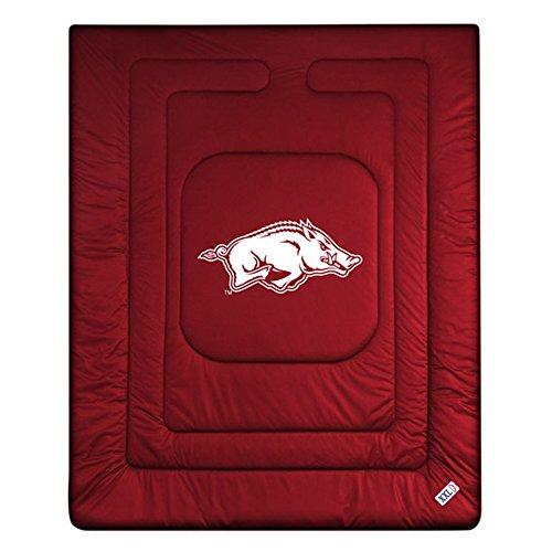 NCAA Arkansas Razorbacks Locker Room Comforter Queen