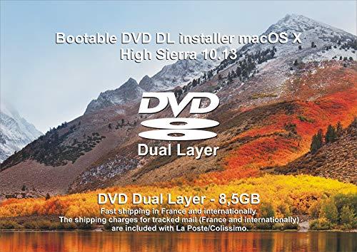 Mac OS X High Sierra 10.13 Bootable / Install / Upgrade – DVD