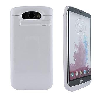 LG G3 Cargador, Kool (TM) Blanco Cargador de batería externo ...
