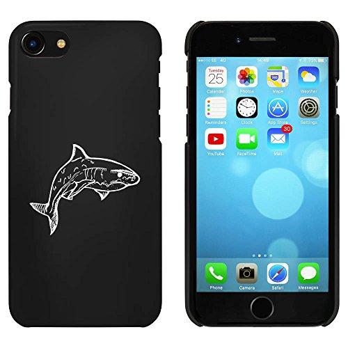 Noir 'Requin' étui / housse pour iPhone 7 (MC00064457)