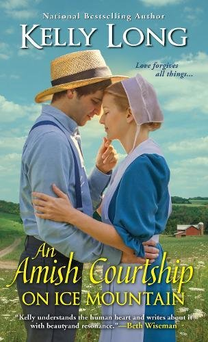 Book Cover: An Amish Courtship on Ice Mountain