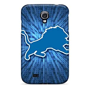 Bumper Hard Phone Case For Samsung Galaxy S4 With Provide Private Custom Trendy Detroit Lions Pattern AlissaDubois