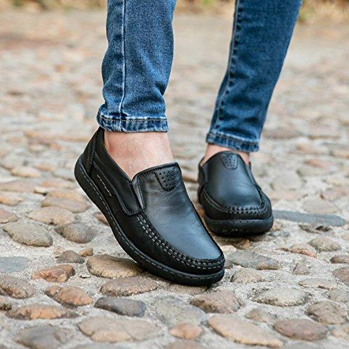 Cheap Leder HKR Damens Leder Cheap Slip On Slip Resistant Work Schuhes for Health ... f764f2