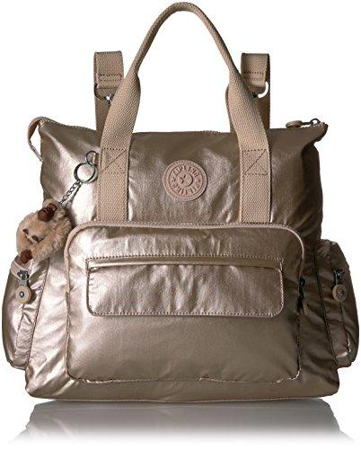 Kipling Alvy Sparkly Gold Convertible Handbag, Sparklygld by Kipling
