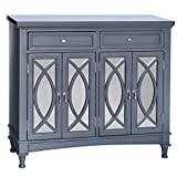 Park Avenue Grey & Mirror Sideboard 42 X 14 X 38