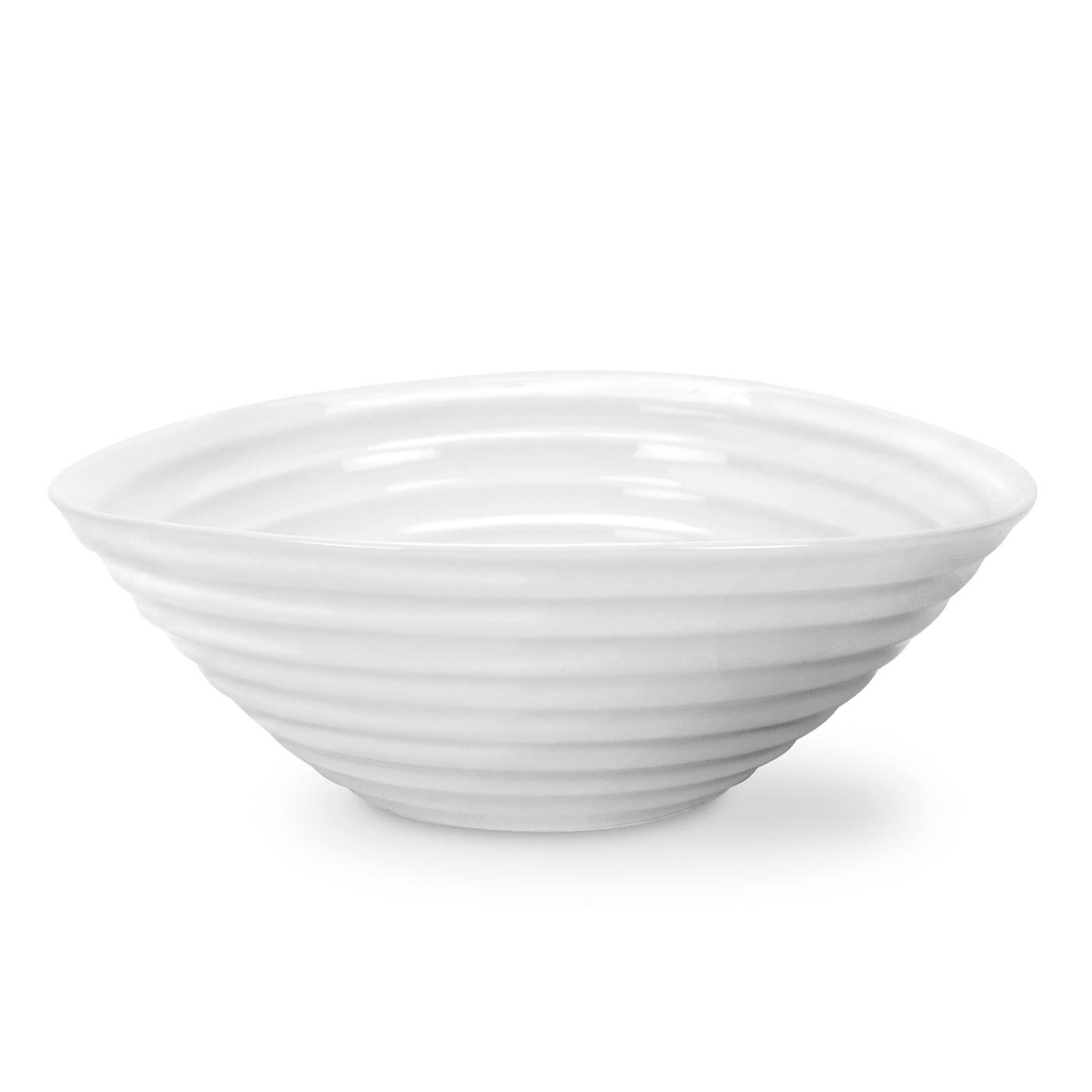 Portmeirion Sophie Conran White Cereal Bowl, 7.5'' Set of 4