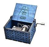 Newgata Star Wars Saga Wooden Music Box (Blue)