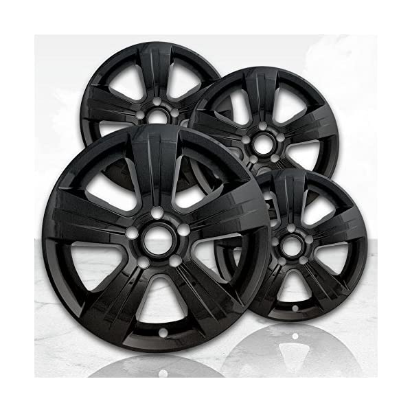 Upgrade-Your-Auto-17-Gloss-Black-Wheel-Skins-Set-of-4-for-2011-2017-Jeep-Patriot-2380