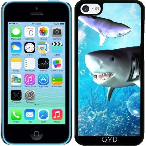 Coque pour Iphone 5c - Requin Impressionnant by nicky2342