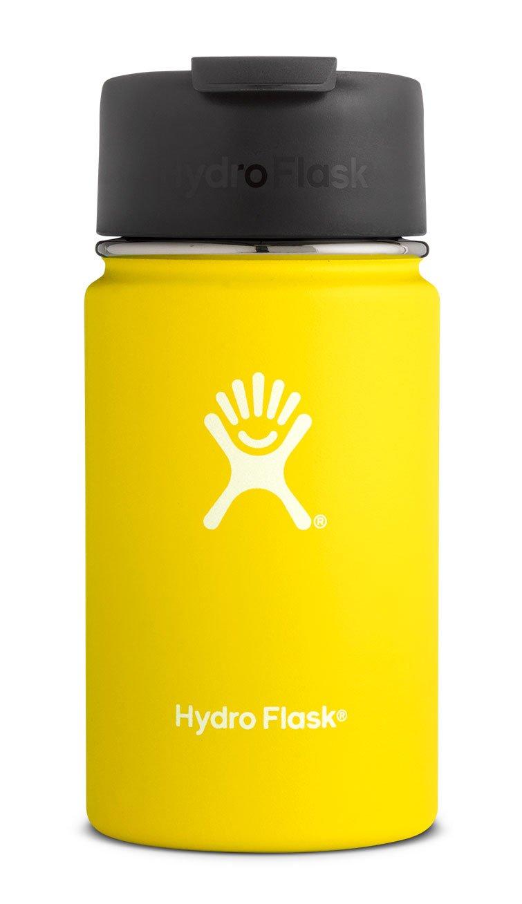 Hydro Flask Unisex Trinkflasche to-Go Kaffeebecher aus Edelstahl mit doppelwandiger Vakuumisolierung und Weithals-Öffnung mit BPA-freiem Hydro Flip-Schnappverschluss Pacific 16o B077D98N53 Thermosflaschen