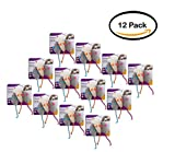 PACK OF 12 - SmartyKat Skitter Critters Mice, Set of 3 Catnip Cat Toys