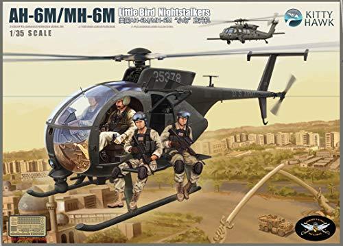 KH50002 1/35 Kitty Hawk AH-6M/MH-6M Night Talker (Model Building Kit)