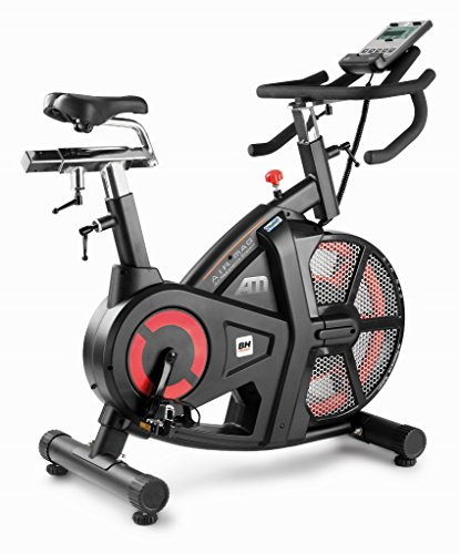 Spin Bikes For Sale >> Bh Fitness Unisex S I Air Mag Spinning Bikes Black Red Large