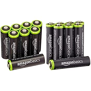 Amazon Com Amazonbasics Aa Rechargeable Batteries 16