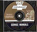 1967 CHEVROLET CAMARO FACTORY REPAIR SHOP & SERVICE MANUAL INCLUDES: Standard Camaro, Sport Coupe, Rally Sport, RS, SS, Z28, Coupe, Convertible, CHEVY 67