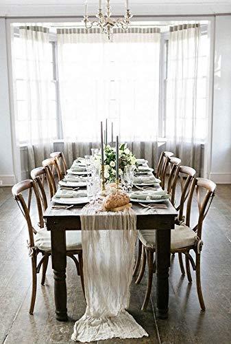 Amazon.com: Wedding Table runner Cheesecloth Muslin Cheese cloth ...