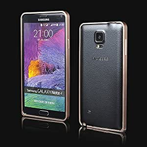 Samsung Galaxy Note 4 Case, Ultra thin Hard Aluminum Metal Bumper Case Cover For Samsung Galaxy Note 4 N9100 (Champagne Gold)