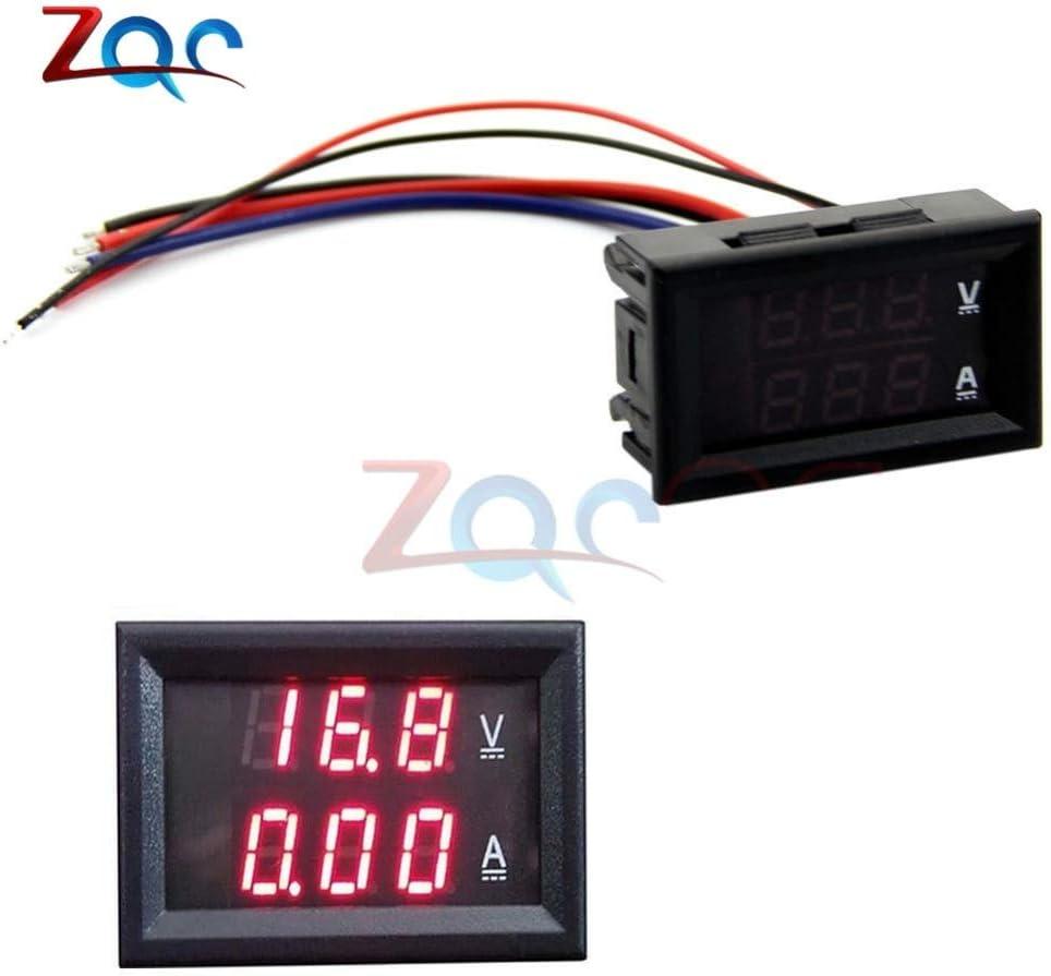 DC 100V 10A Mini Voltmetro digitale Amperometro Pannello Amp Volt Voltaggio Misuratore di corrente Tester 0.28Display a LED rosso rosso