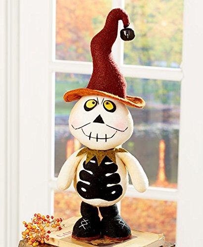 Primitive Fall Halloween Thanksgiving Autumn Decoration Country Home Figurine Kids (skeleton)
