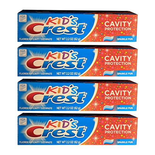 (Kids Crest 2.2 Ounces Toothpaste (4 Pack))