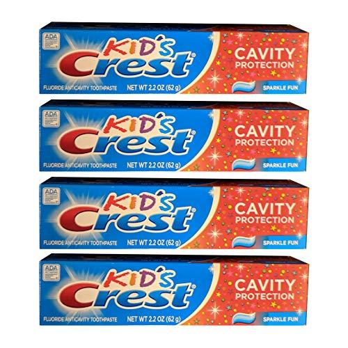 Kids Crest 2.2 Ounces Toothpaste (4 ()
