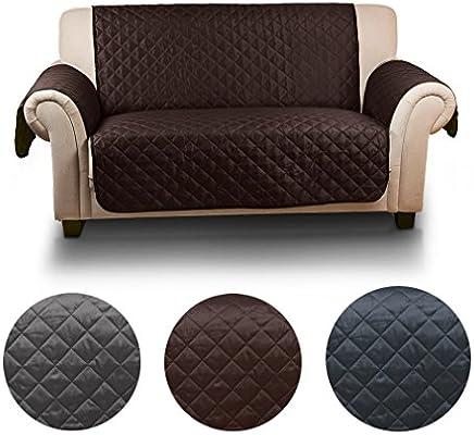 Auralum - Funda de sofá para animal doméstico, 2 plazas(167cm*112cm), Protector Impermeable para Sofás de fachada y contrario se puede utilizar - ...