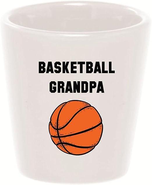 Puré de tazas - baloncesto abuelo - vaso de chupito de cerámica ...
