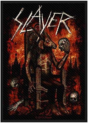 Slayer(スレイヤー) 縫いつけパッチ/ワッペン Devil On Throne Standard Patch