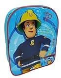 Fireman Sam Plain Value Children's Backpack, 30 Cm, 6.5 Liters, Blue