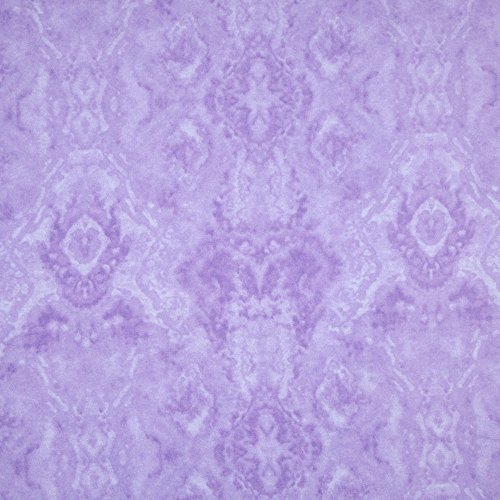 A.E. Nathan Comfy Flannel Tone on Tone Lilac Fabric By The Yard Nathan Comfy Flannel