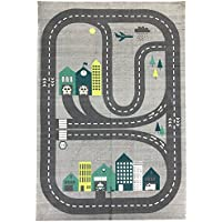 Spura Home 35 x51 Roadmap Kids Rug