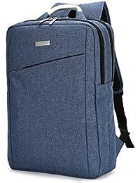 Leaper Water Resistant Business Laptop Backpack Shoulder Bag Travel Daypack Fits 15.6 Inch Laptops Blue
