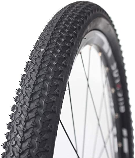 Fit XC BUCKLOS 【US Stock】 24//26//27.5 x 1.95//2.1 Mountain Bike Tires Durable Non-Slip Bicycle Cross Country Tire 24//26//27.5 for Mountain AM MTB Bike Bead Wire Tire for Mountain 1PC City Bike
