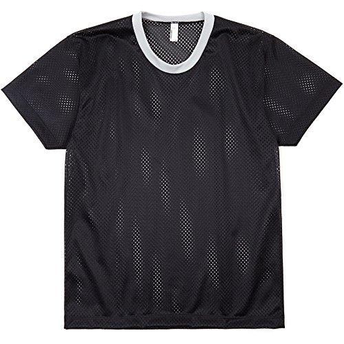 Silver Black American Tank T Mesh 100 shirt ladies Athletic Womens Poly Apparel PqfPxwpv