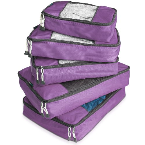 travelwise-packing-cube-system-durable-5-piece-weekender-plus-set-2014-version-purple