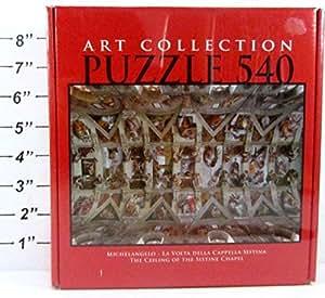 Amazon Com Art Collection Puzzle 540 Pcs 12 99 Inches X