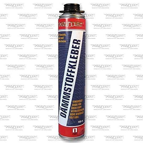 Espuma de poliuretano WDVS Adhesive 1 K/Buildershop pegamento B1 – 1 800 ml latas