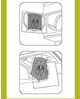 3 PACKS - B&E Home Essential Laundry Mesh Wash Bag Set for Shoes