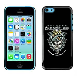 GagaDesign Phone Accessories: Hard Case Cover for Apple iPhone 5C - US Army Special Forces