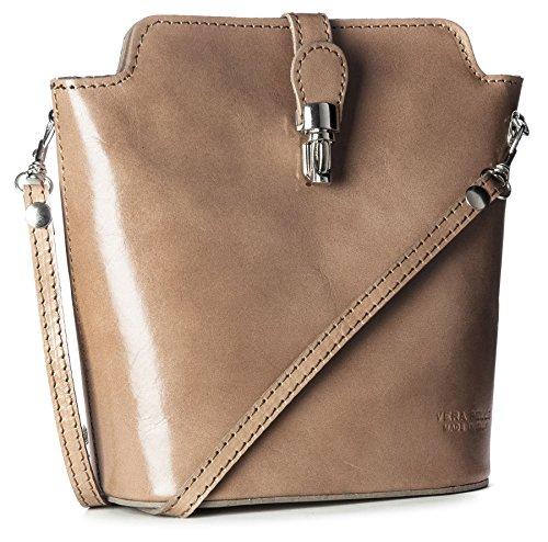 Shop Uni Motif Taupe ou bandoulière sac Petite cuir en Handbag véritable crocodile Mini Big autruche Medium Structured 5qw1zf1x