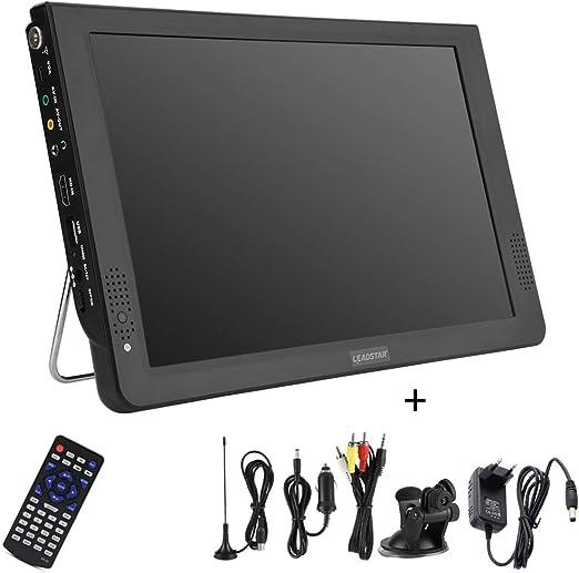 ELECT 12 Pulgadas Portátil LED Digital TV con DVB-T2 DVB-T/DVB-T ...