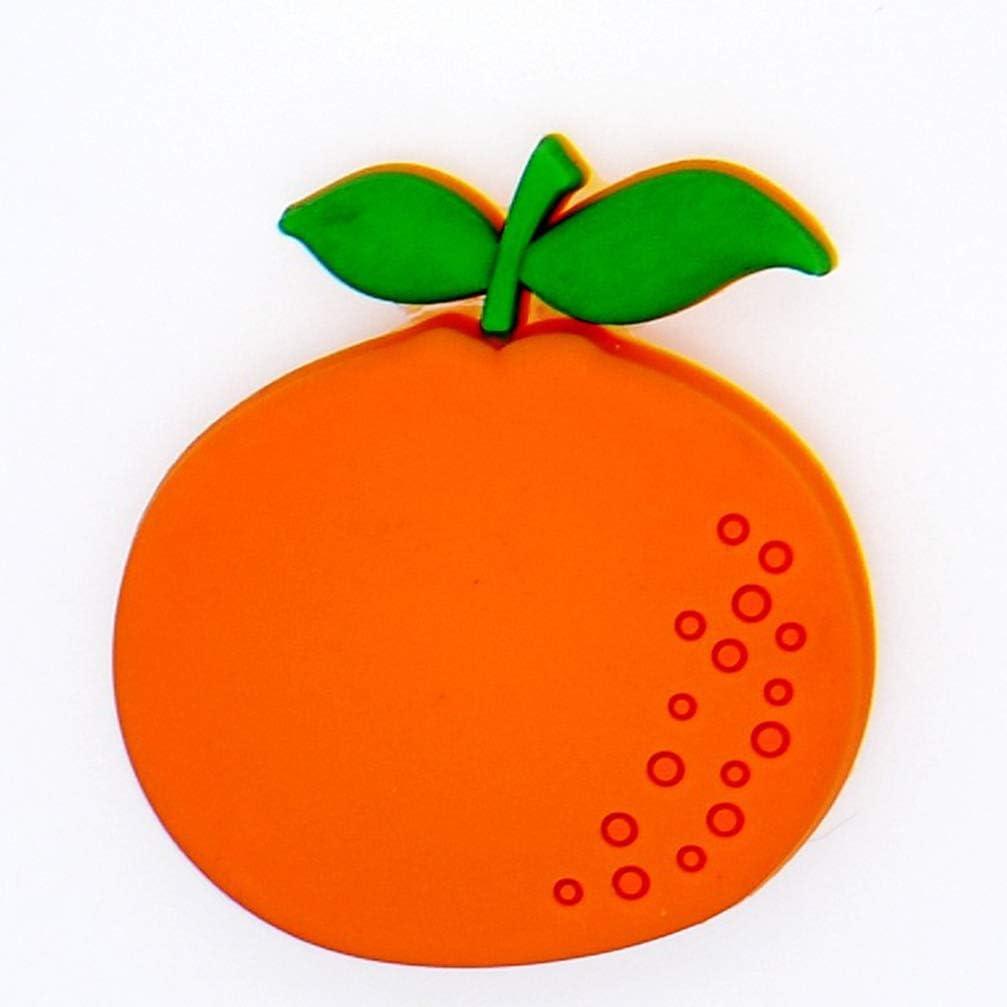 Vosarea 10pcs Fruit Fridge Magnets Refrigerator Magnets Party Magnets Whiteboard Sticker Home Decoration Educational Kids Gift