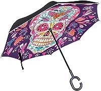 parapluie tête de mort 14