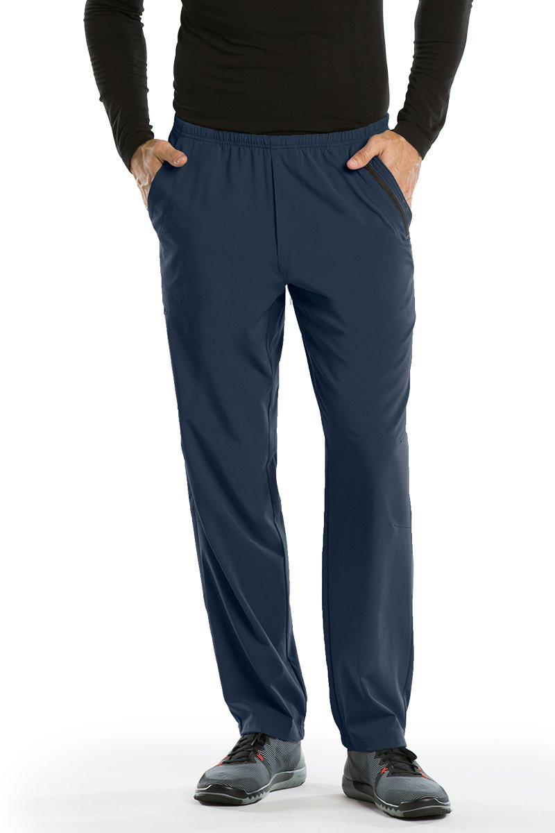 Barco Uniforms PANTS メンズ B074ZSZDTR Large Short|スチール スチール Large Short